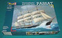 Sailing Ship Passat Four Mast Bark Revell 1/250 Complete & Unstarted.