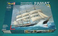 Sailing Ship Passat Four Mast Bark Revell 1/250 Complete & Unstarted.