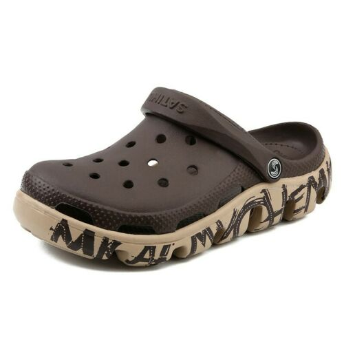 Mens Slip On Beach Fishmen Casual Flats Summer Synthetic Leather Sandals Shoes