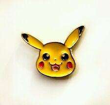Mini pickachu pokemon kawaii enamel pin badge 20mm