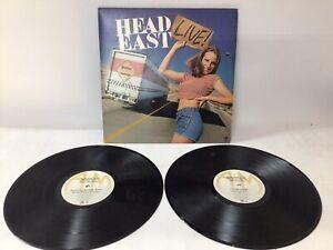 """Head East """"Live"""" 1979 Vinyl A&M Record 2 LP Double Album SP-6007 GATEFOLD"""