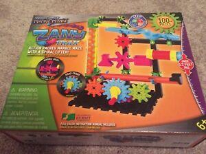 Techno Gears Zany Trax Action Packed Marble Maze Ebay