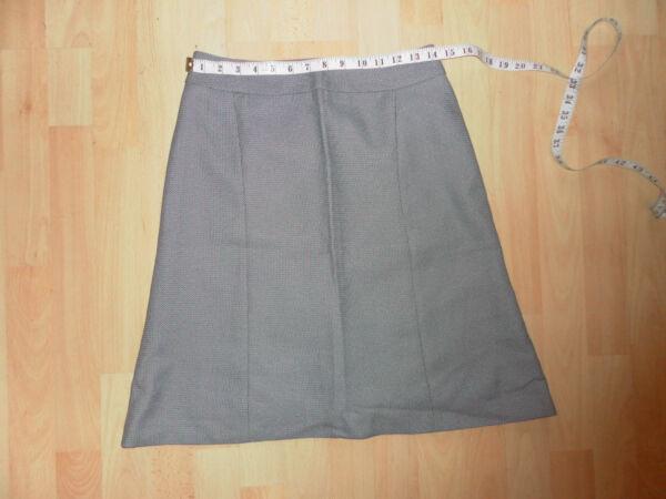 """*** Nuovo Grigio Gonna Stampa Vita 28"""" ***-w Grey Print Skirt Waist 28""""********** Perfetto Nella Lavorazione"""