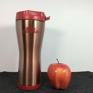 Bulbhead-Red-Copper-amp-Ceramic-Hot-Cold-Tumbler-NO-SPILL-Travel-Mug-As-Seen-On-TV