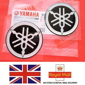Yamaha Tank Badge R1 R6 Yzf X 2 45mm Diameter Genuine Yamaha Uk Stock Ebay