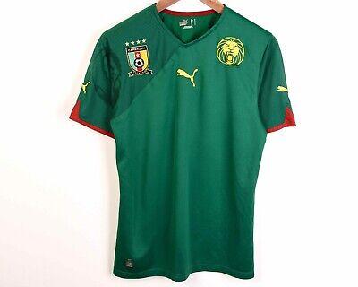 CAMEROON Home 2009 2010 Shirt Men'S Jersey Puma Cameroun Football Kit Tee Top | eBay