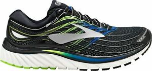 11be9064939 Brooks Glycerin 15 Reflective Super DNA Black Grey Running Shoes ...