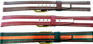 16mm-FLEURUS-HAND-MADE-TWO-TONED-STITCHED-LINED-GENUINE-CALF-LEATHER