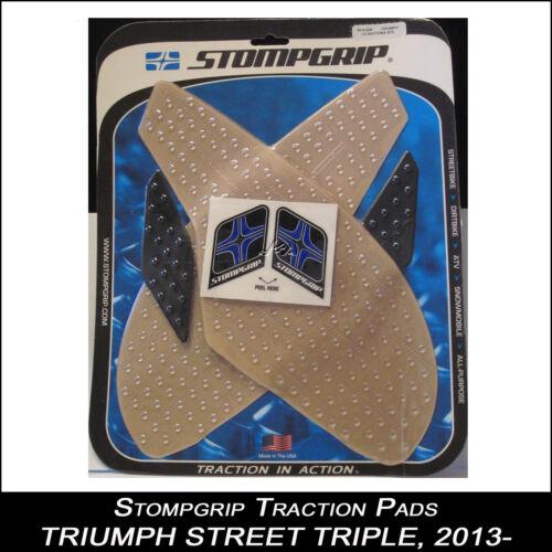 TRIUMPH STREET TRIPLE 675 2013- klartankpad 55-10-0078 STOMPGRIP traction Pad