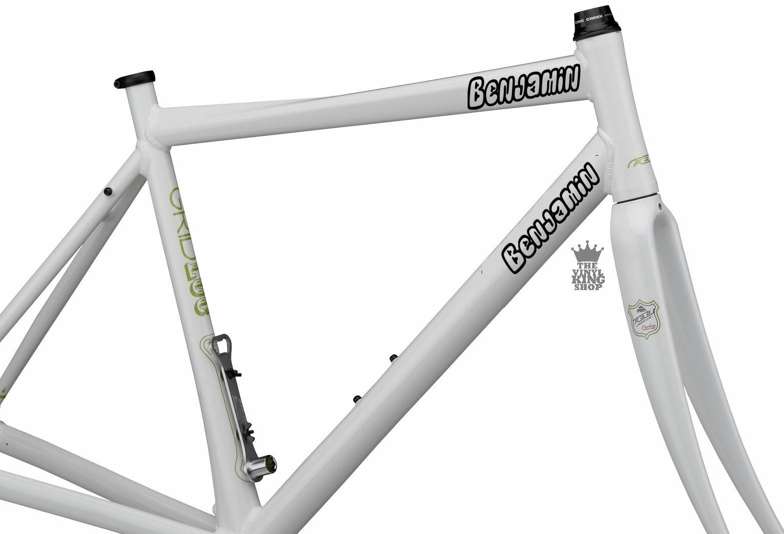2 x personalised bike name stickers vinyl decals open font bicycle bmx for sale online ebay