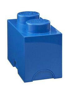 azul-LEGO-almacenaje-Ladrillo-2-JUGUETES-Cuarto-De-Juegos-Dormitorio