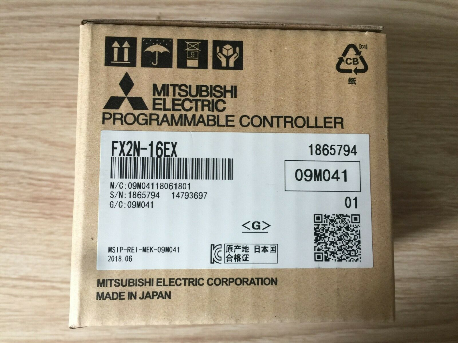 NEW IN BOX Mitsubishi PLC FX2N-16EX FX2N16EX     LRR