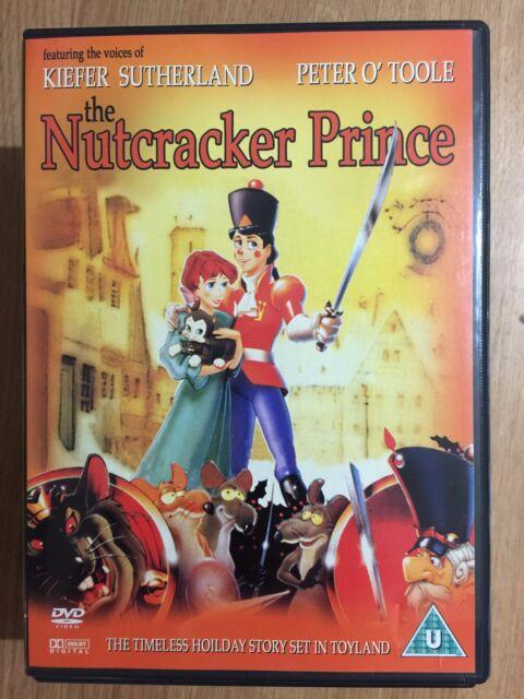 Kiefer Sutherland Peter O'Toole NUTCRACKER PRINCE ~ 1990 Animated Classic | DVD
