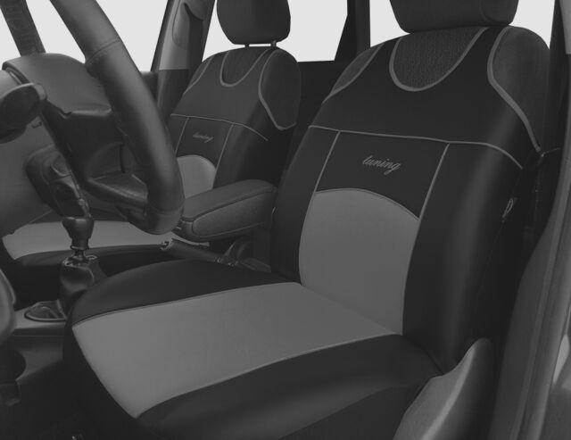 06+ Waterproof Front Car Seat Covers Protectors Grey VAUXHALL CORSA ECOFLEX