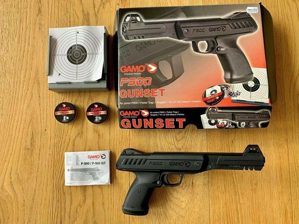 Luftpistol sæt - GAMO precision airgun P900 Gun...
