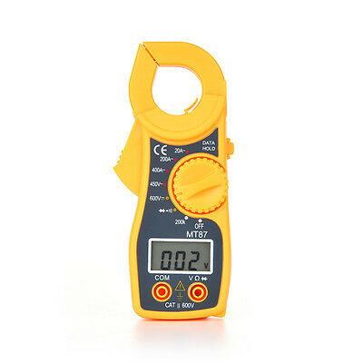 New Mini MT87 LCD Digital Clamp Multimeter Voltmet Electric AC/DC Voltage Tester