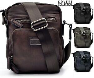 vendita calda online 4b96d 47479 Dettagli su borsello borsellino pelle multitasche uomo bridge marrone nero  piccolo originale