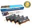 4-Pack 3110 Toner Cartridges Set for Dell 3110CN 3115CN 3115 593-10170 XG721