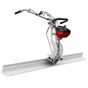 Gas-Power-4-Stroke-Concrete-Surface-Vibratory-Leveling-Screed-7ft-Tamper-blade