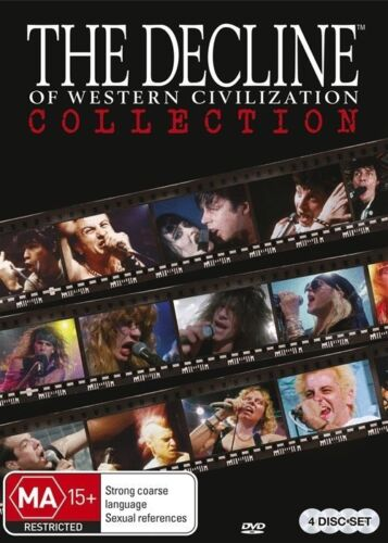 1 of 1 - The Decline Of Western Civilization (DVD, 2015, 4-Disc Set) NEW AND SEALED