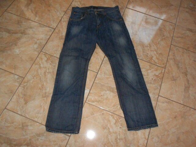J1882 Lee Clark Jeans W32 L32 Dunkelblau Sehr gut    Ausgezeichnet