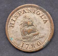 HISPANIOLA 1780 * Piece of EIGHT * TOKEN COIN * 1950s Scaroborough