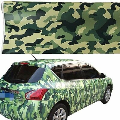 "60"" x 20"" Vinyl Army Camo Camouflage Desert Car Wrap Sheet Sticker Laptop Decal"