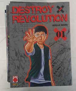 DESTROY REVOLUTION - serie completa 9 numeri - Planet Manga