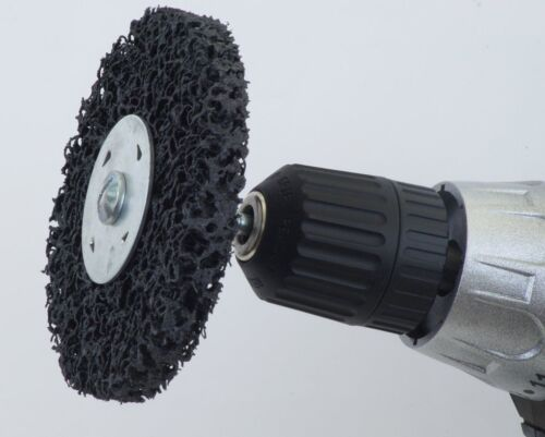 20 CSD-Gewebe-Schleifscheibe 100 x 13 schwarz COARSE Nylonkeks Reinigungsscheibe