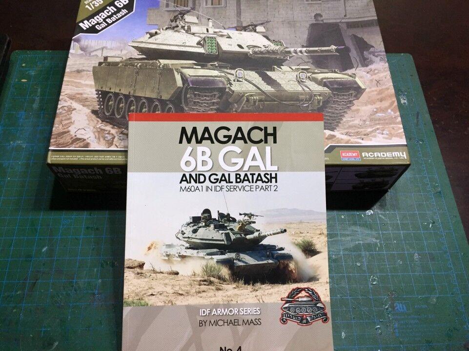 IDF ARMOR SERIES No.4 Magach 6B GAL M60A1 in IDF Service Desert Eagle Publishing