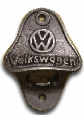 Cast Iron Bottle Opener//Wall Mounted//Heavy//Car//Rustic//AntiquedBar////VOLKSWAGEN VW
