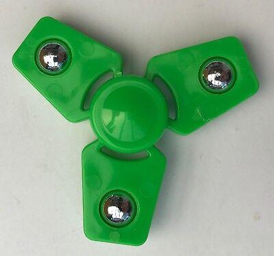"""Finger Kreisel  /""""Super 360 Spinner-Chrome in silberner Box/"""" Fidget Spinner"""
