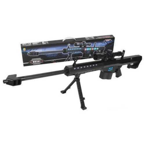 NUOVO BARRETT MACHINE GUN PISTOLA GIOCATTOLO M82A1 GUERRA miglior regalo