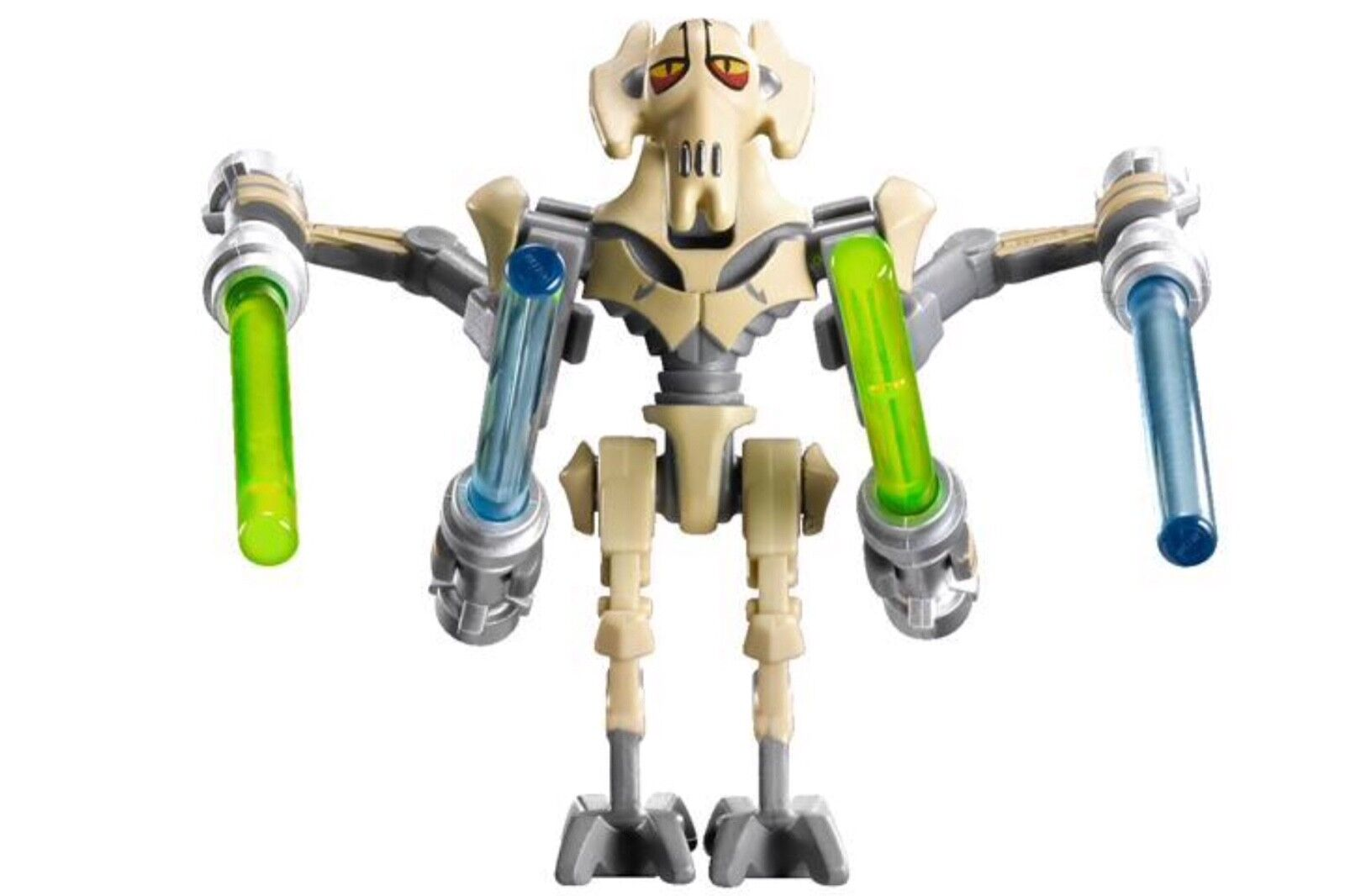 New Star Wars Lego minifigure GENERAL GRIEVOUS from set 9515 now retired