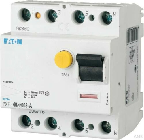 Eaton//Möller FI-disjoncteur 40 a 4p 30 mA pxf-40//4//003-a