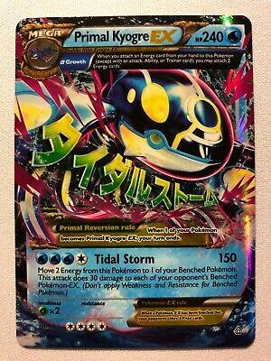 Primal Kyogre EX 55//160 Primal Clash Rare Holo ex Mint Pokemon Card