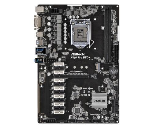 Asrock Intel H110 Pro ATX DDR4-SDRAM Motherboard