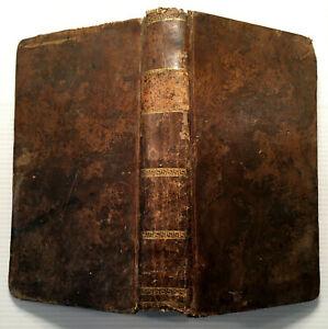 1811 RHETORIQUE FRANCOISE à L'USAGE DES JEUNES DEMOISELLES POESIES LIVRE BOOK