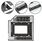 SATA 2nd HDD SSD Hard Drive Caddy 9.5mm Universal CD/DVD-ROM Optical Bay Adapter