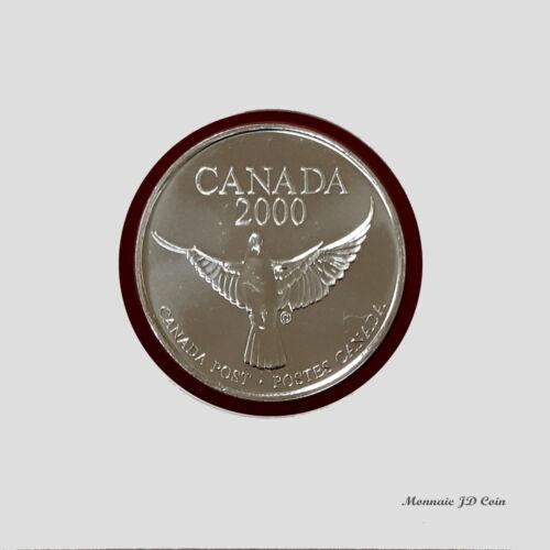 2000  Millenium Canada Post Keepsake Medaillon Coin