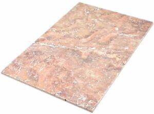 Détails sur Pierre naturelle Carreau rosé Antik travertin Matt Mur Sol  Cuisine Salle de bains wbf-45-45061- afficher le titre d\'origine