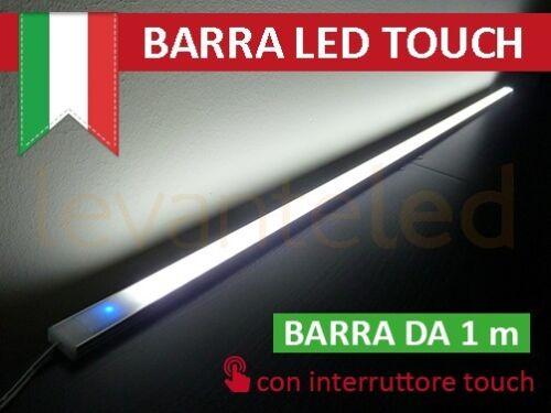 Alluminio 1Mt Touch Dimmerabile Profilo Barra Led Luce Naturale Armadio