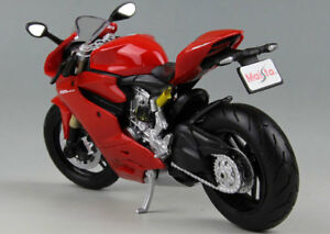Maisto-1-12-Diecast-Motorcycle-Racing-MotorBike-Model-Toy-Ducati-1199-Panigale