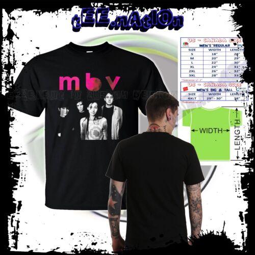 new MBV MY BLOODY VALENTINE Irish Rock band Slowdive Mens T shirt S to 4XLT