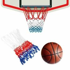 3.99 NEW  Basketball Replacement Goal Net Red White One Only FREEPOST