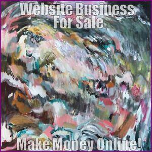 ART & ARTISTS Website Earn £42 A SALE|FREE Domain|FREE Hosting|FREE Traffic