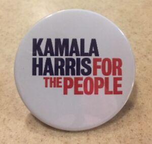 "D Presidential Hopeful Campaign Button Pin 05 2020 Kamala Harris 2.25/"" //"