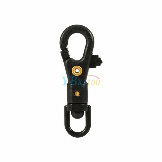 5pcs 360º Rotating Swivel Hiking Carabiner Clip Hanging Keyring Buckle Hook MF for sale online