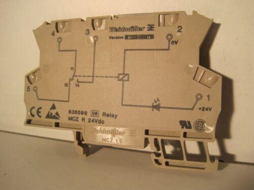 6 a out Hutschiene mczr 836598 24vdc-Max Weidmüller Relais Module Relais P.D