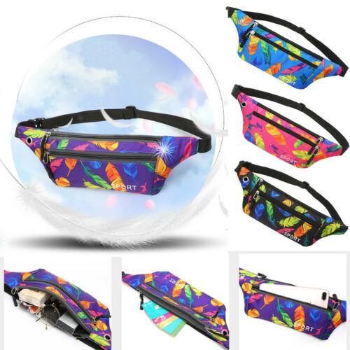 Unisex Outdoor Waterproof Functional  Feather Crossbody Bag Chest Bag Phone Bags